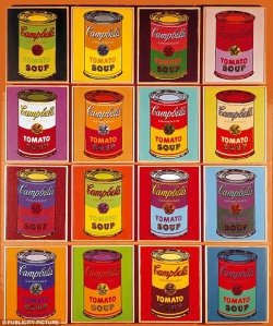Campbells pop art
